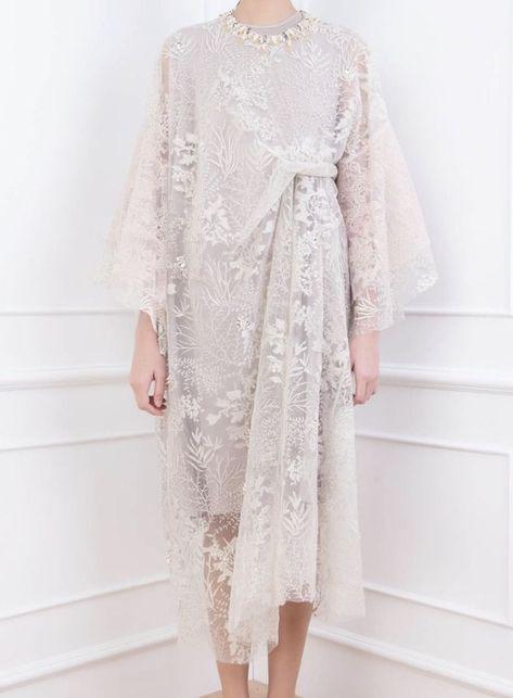 Dress Brokat Muslimah Hijab Fashion 22 Trendy Ideas Hijab Dress Brokat Dress Brokat Modern Kebaya Modern Dress