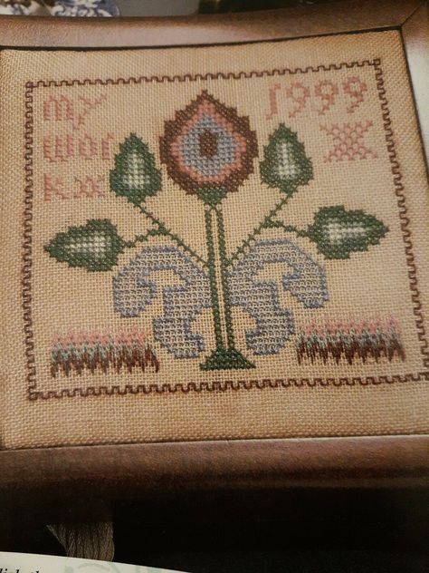 Vintage 5 Cent Ice Cream Sign DIGITAL Counted Cross-Stitch Pattern Needlepoint