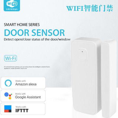 Ad Ebay Link 2 4g Wireless Wifi Smart Home Door Window Cap Contact Sensor With Alexa Google 4g Wireless Smart Home Home Doors