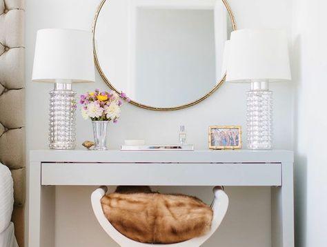 magasiner pour l'original découvrir les dernières tendances couleurs délicates Jolie coiffeuse avec miroir, 40 idées pour choisir la ...