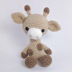 Amigurumi Funny Giraffe pattern. Crochet pattern. Amigurumi   Etsy   289x290