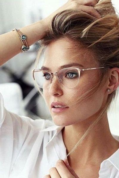 Moda Anti Idade Oculos De Grau Tambem Nos Deixa Bonita Com
