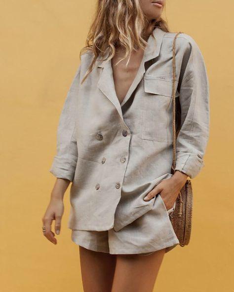 Beautyfine Mens Casual Shirt Blouse Stand Collar Stripe Summer Short Sleeve Loose Buttons Tops