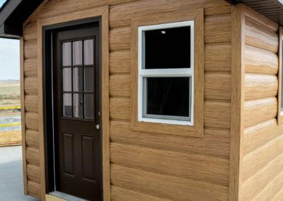 Ponderosa Pine Gallery Refresh Your Home With Rustic Looking Steel Siding Trulog Siding In 2020 Steel Siding Ponderosa Pine Rustic Bathroom Designs