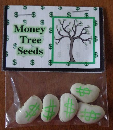 Money Seed Tree Great For Birthdays or A Fun Gag Gift, Novelty Bags 3.00