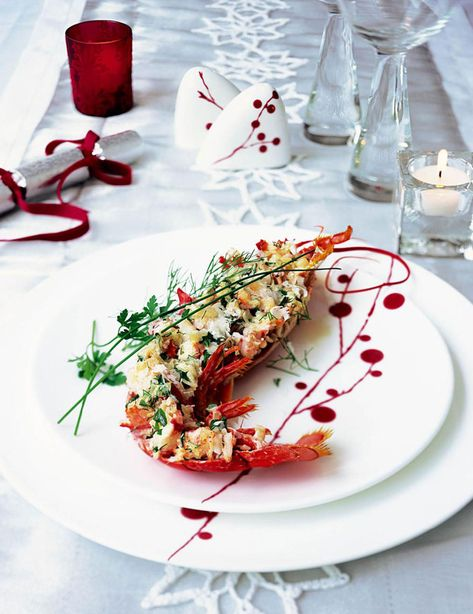 This special grilled lobster thermidor recipe is a lot easier to prepare than you might think, and the sauce is lighter than the usual rich cheesy one.
