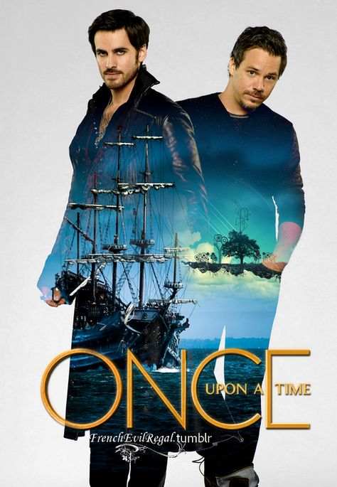 Once Upon A Time S3   Hook & Neal by frenchevilregal on Tumblr