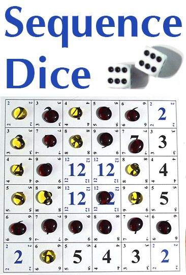 Sequece Sequence Dice Is An Easy To Play Light Strategy Game Of Luck For The Whole Family Find Out How To Play Dice Games Family Card Games Family Fun Games