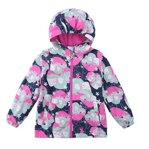 357a6e96c3e1 2017 Waterproof Windproof Girls Coat Hooded Children Jacket Outwear ...