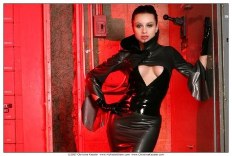 Leather vinal latex