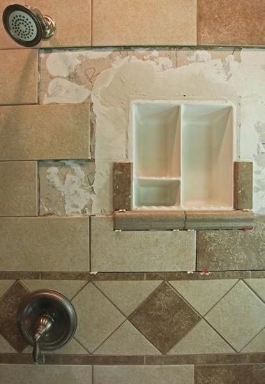 Tile Shower Soap Dish Inserts Inset Picture Framed Tile Shampoo