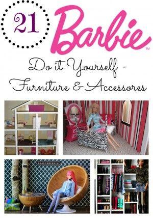 Diy barbie furniture accessories round up check out these 21 diy barbie furniture accessories round up check out these 21 great ideas dockor3d pinterest barbie dockor och barbieklder solutioingenieria Image collections