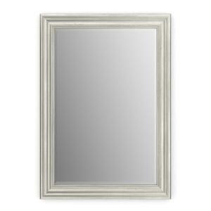 Delta Mandara 30 In X 64 3 4 In Semi Frameless Contemporary Pivot Shower Door In Nickel With Niebla Glass 2406671 The Home Depot Bathroom Vanity Mirror Glass Bathroom Mirror