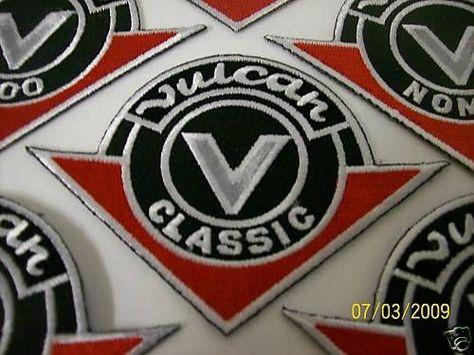 New kawasaki vulcan classic logo patch