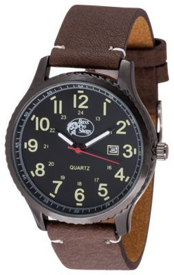Bass Pro Shops Outdoorsman Brown Watch for Men BrownBlack