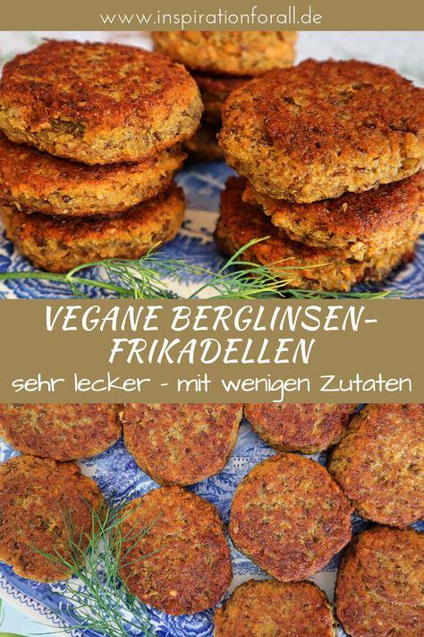 Vegane Frikadellen mit Linsen | leckere Bratklops aus der Pfanne | gesunde, vegetarische Buletten | einfaches & schnelles Rezept #Bratklops #Frikadellen #FrikadellenRezepte #FrikadellenVegetarisch #FrikadellenGesund