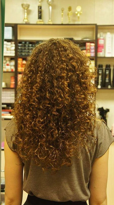 Tight Curl Perm For Long Hair In 2019 Spiral Perm Long