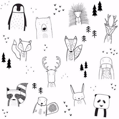 Image Result For Bullet Journaling Animal Doodles With Images