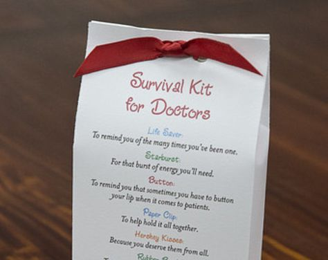 Survival Kit for Healthcare Providers Printable PDF   Etsy