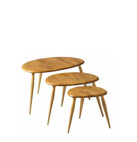 The Ercol Pebble Tables Gorgeous Design Ercol Coffee