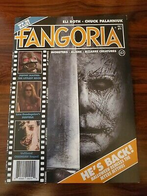 Fangoria Issue 1 Halloween 2020 Fangoria Volume Two Issue Number One Halloween Michael Myers Vol 2