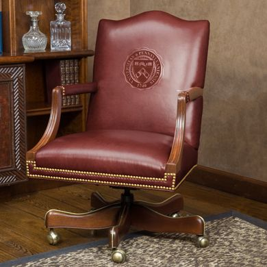 female home office furniture | University of Pennsylvania Leather ...