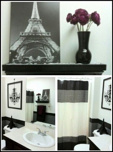 Bedroom Decor, Paris Themed Bathroom Ideas