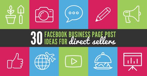 30 Facebook Business Page Post Ideas