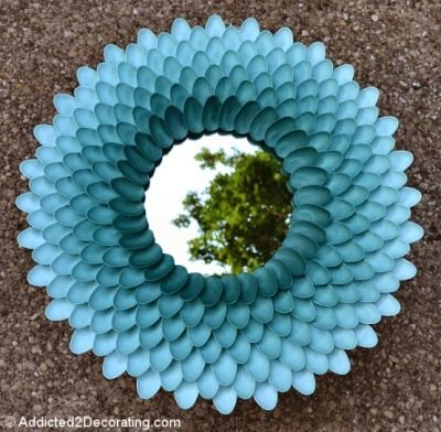 33 Kerajinan Tangan Dari Sendok Plastik Dengan Gambar Ide
