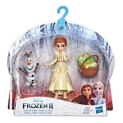 Disney Frozen Anna And Olaf Small Dolls With Basket Accessory Inspired By The Disney Frozen 2 Movie Yell Muñecas De Frozen Juguetes Frozen Juguetes De Disney
