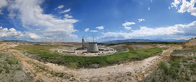 On-site at one of the biggest projects in Greece in recent years