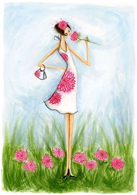 Pink Flower // Bella Pilar // Magnet Reps // Artist Representatives on imgfave
