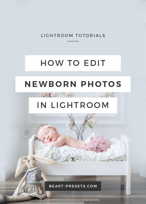 How to edit newborn photos in Lightroom
