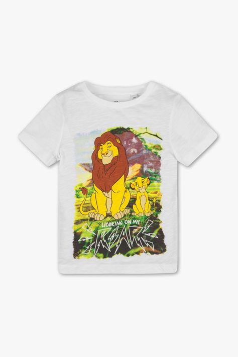 T-shirt enfants manches courtes Disney the Lion Guard roi lion