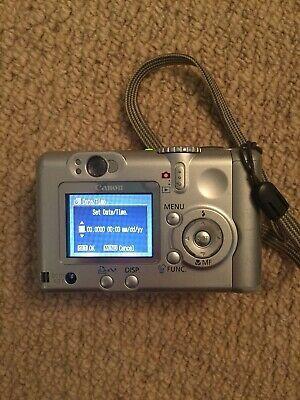 Canon Powershot A75 3 2mp Digital Camera Silver Digital Camera Powershot Digital