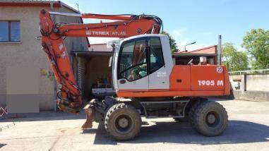 2005 Mobil Ekskavator Atlas Terex 1905m Construction Equipment Trucks Construction