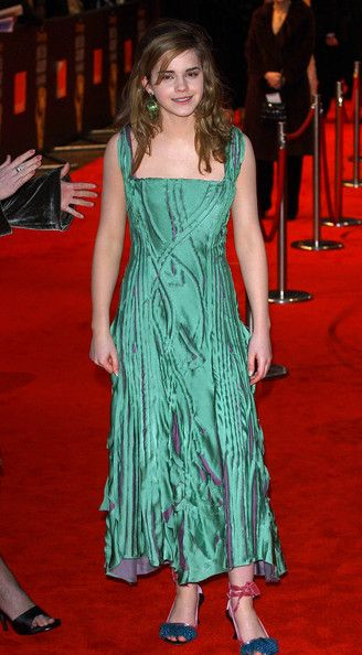 Emma Watson Then - Red Carpet Flashback - Then & Now - Photos