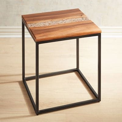 River Rock End Table | Pams inspiration | End tables, Table ...