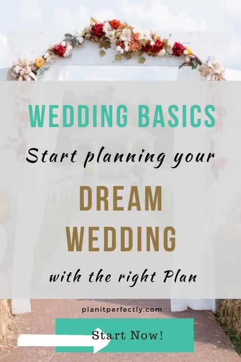 Check out how my Wedding Basics Package can help you DIY your wedding the right way. #diywedding #weddingplanning #bridetobe #weddingplanner #wedding
