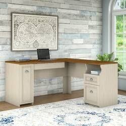 Claremont L Shape Desk In 2020 White L Shaped Desk L Shaped Desk Furniture