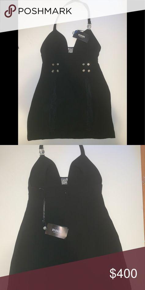 Versus Versace Mini Halter Dress
