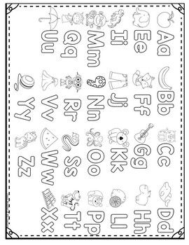 My Abc Coloring Book Freebie Abc Coloring Abc Coloring Pages Alphabet Coloring Pages
