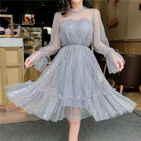 LP1069,O-Neck Long Sleeves Short Prom Dress,Sequins Sexy Homecoming Dress,Knee Length Graduation Dress