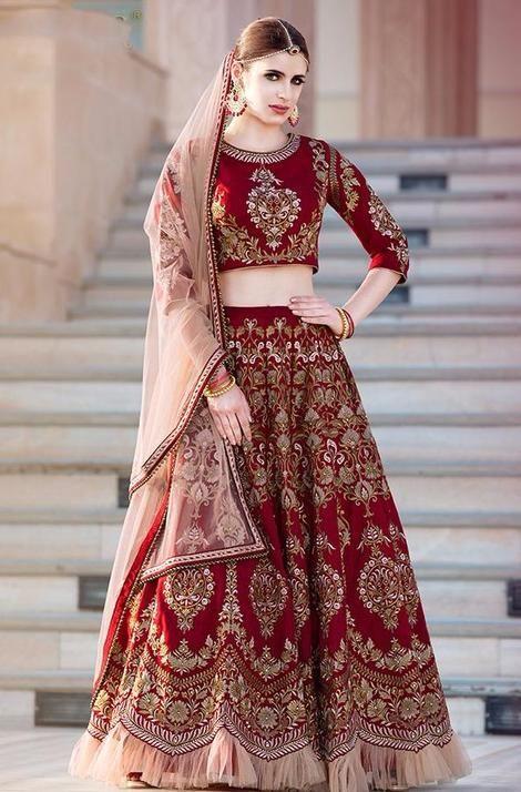 New Elegant Wedding Lehenga Choli Designer Oval Indian Women Anarkali Lehngas