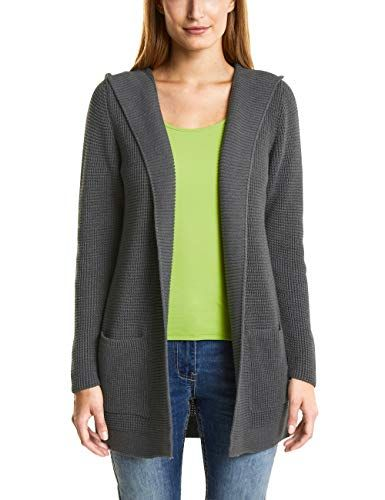 Cecil Damen Strickjacke 252689 Giselle Grau (Light Graphit