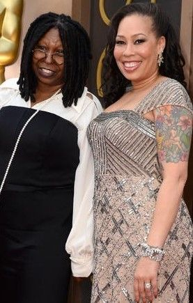 Whoopi Goldberg With Daughter Alex Martin Whoopi Pinterest