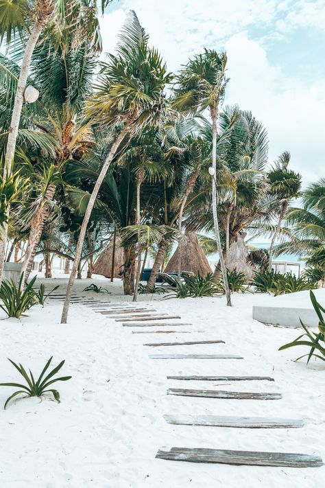 Looking for the best beach destination in Mexico? Set in the Caribbean, Tulum is a small town whose beaches feel like they came straight out of a magazine. To top things off, it's also close to some of the Mayan Riviera's most enthralling adventure activities and boasts boho vibes and eco-resorts for a perfect wedding venue!