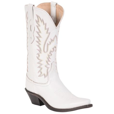 a8480c5140e Cavender's by Old Gringo Women's Taupe with White Embroidery Western ...