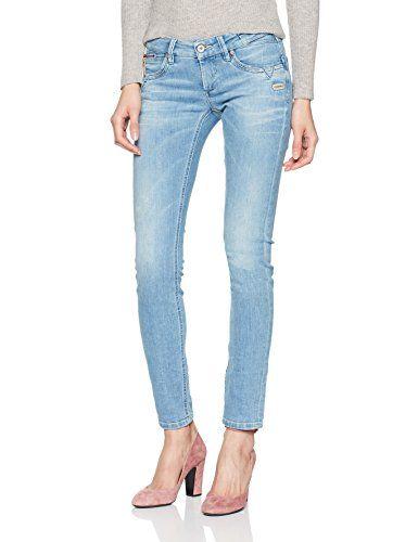 Gang Damen Skinny Jeans Nikita Blue hiperpower Blau (Sun