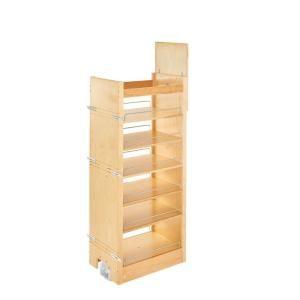 Rev A Shelf 50 75 In H X 14 In W X 22 In D Pull Out Wood Tall